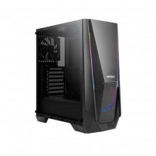 Antec NX310 Tempered Glass RGB Mid-Tower ATX Case - Black
