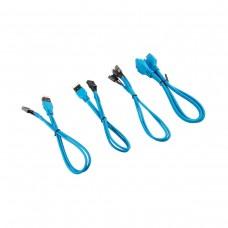 Corsair Premium Sleeved Front Panel Extension Kit 30cm — Blue