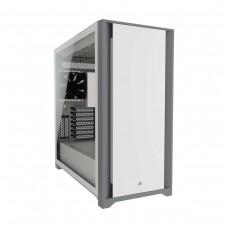 Corsair 5000D Tempered Glass Midi Tower ATX Case — White