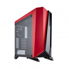 Corsair Carbide SPEC-OMEGA Mid-Tower Gaming Case — Black/Red