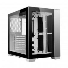 Lian Li O11 Dynamic MINI Mini Tower Modular Micro ATX Case — White
