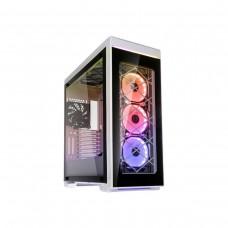 Lian Li Alpha 550 RGB Mid Tower ATX Case — White