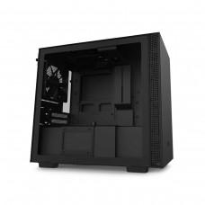 NZXT H210 Tempered Glass Mini ITX Case — Matt Black