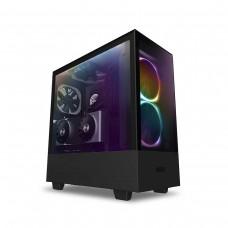 NZXT H510 Elite RGB Tempered Glass Mid Tower ATX Case — Matt Black