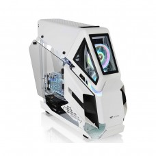 Thermaltake AH T600 Snow Edition Tempered Glass Full Tower E-ATX Case — White