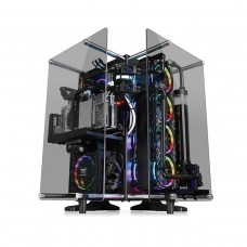 Thermaltake Core P90 Tempered Glass Edition Open Air Mid Tower ATX Case — Black