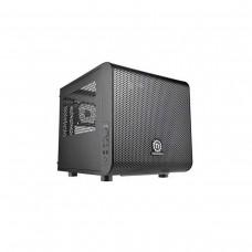 Thermaltake Core V1 Mini Tower Mini ITX Case — Black