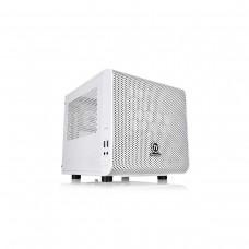 Thermaltake Core V1 Snow Edition Mini Tower Mini ITX Case — White