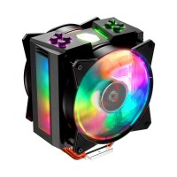 Cooler Master MasterAir MA410M RGB CPU Heatsink and Fan, 120mm