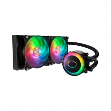 Cooler Master MasterLiquid ML240R RGB AIO Liquid Cooler, 240mm