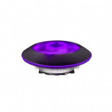 Cooler Master MasterAir G100M RGB CPU Heatsink and Fan, Low Profile with 92mm Fan