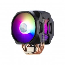 Cooler Master MasterAir MA610P ARGB CPU Heatsink and Fan, Dual 120mm