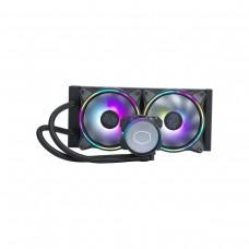 Cooler Master MasterLiquid ML240 Illusion ARGB AIO Liquid Cooler, 240mm