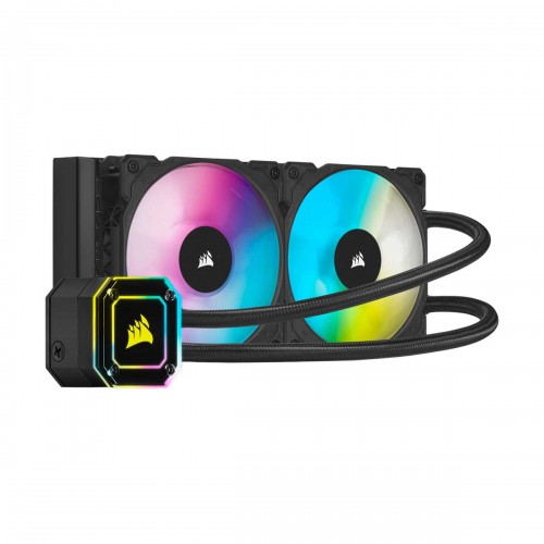 Corsair iCUE H100i ELITE CAPELLIX RGB AIO Liquid Cooler, 240mm