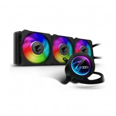 Gigabyte AORUS LIQUID COOLER 360 AIO Liquid Cooler with LCD Display, 360mm