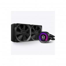 NZXT Kraken Z53 (RL-KRZ53-01) RGB AIO Liquid Cooler with LCD Display, 240mm