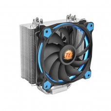 Thermaltake Riing Silent 12 Blue LED CPU Heatsink and Fan, 120mm