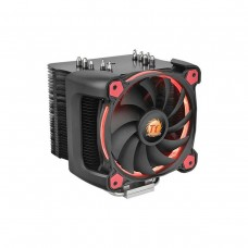 Thermaltake Riing Silent 12 Pro Red LED CPU Heatsink and Fan, 120mm