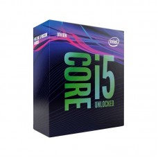 Intel Core i5-9600K Hex Core CPU, No Cooler, Unlocked Multiplier, LGA1151, 3.7GHz (4.6GHz Turbo)
