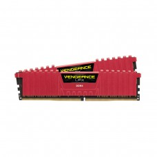 Corsair VENGEANCE LPX 16GB (2 x 8GB) DDR4 DRAM 3000MHz C15 Memory Kit — Red