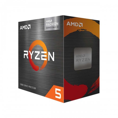 AMD Ryzen 5 5600G Hex Core CPU with SMT, Unlocked Multiplier, Integrated Radeon Graphics, Socket AM4, 3.9GHz (4.4GHz Boost) Including Warzone G-Series Pack