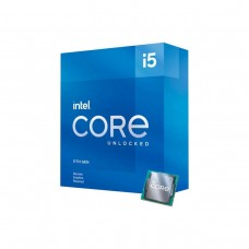 Intel Core i5-11600KF 6 Core CPU with HyperThreading, No Cooler, Unlocked Multiplier, No Integrated Graphics, LGA1200, 3.9GHz (4.9GHz Turbo)