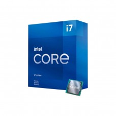 Intel Core i7-11700F Octa Core CPU with HyperThreading, No Integrated Graphics, LGA1200, 2.5GHz (4.9GHz Turbo)