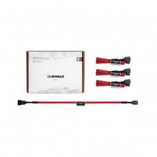 Noctua NA-SEC1 chromax.red Fan Extension Cables, Pack of 4, 30cm — Red