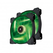 Corsair Air Series SP140 High Static Pressure 140mm Fan Twin Pack - Green