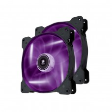 Corsair Air Series SP140 High Static Pressure 140mm Fan Twin Pack - Purple