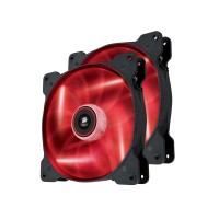 Corsair Air Series SP140 High Static Pressure 140mm Fan Twin Pack - Red