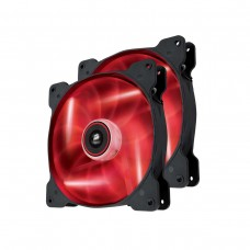 Corsair Air Series SP140 High Static Pressure 140mm Fan Twin Pack — Red