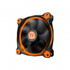 Thermaltake Riing 12 LED High Static Pressure LED 120mm Fan - Orange