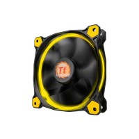 Thermaltake Riing 12 LED High Static Pressure LED 120mm Fan - Yellow