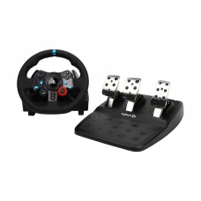 Logitech G29 DRIVING FORCE Racing Wheel with Pedals, Force Feedback, Compatible with Playstation and PC