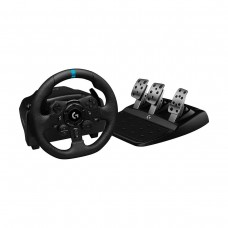 Logitech G923 TRUEFORCE Racing Wheel with Pedals and Shifter, Force Feedback, Compatible with Playstation and PC