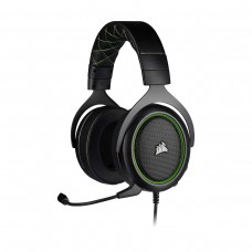 Corsair HS50 PRO Stereo Gaming Headset, 3.5mm, Green and Black