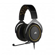 Corsair HS60 Pro 7.1 Surround Gaming Headset, 3.5mm, Yellow