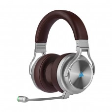 Corsair Virtuoso RGB Wireless SE High Fidelity Gaming 7.1 Surround Sound Headset, Espresso