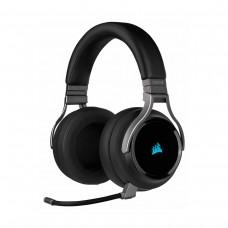 Corsair Virtuoso RGB Wireless High Fidelity Gaming 7.1 Surround Sound Headset, Carbon