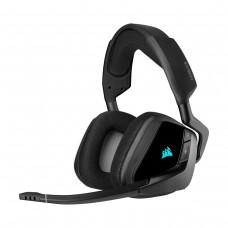 Corsair Void RGB Elite Wireless Premium Gaming 7.1 Surround Sound Headset, Carbon
