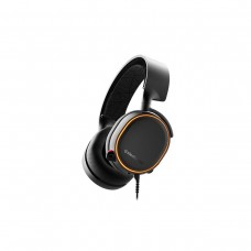 SteelSeries Arctis 5 2019 Edition 7.1 Surround Sound RGB Gaming Headset, USB Dongle and 3.5mm — Black
