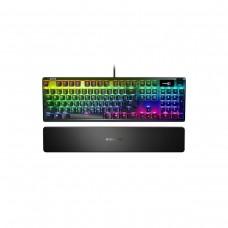 SteelSeries Apex 7 RGB Mechanical Gaming Keyboard with OLED Display — SteelSeries QX2 Red