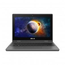 """ASUS BR1100F BR1100FKA-C4128GLT Laptop — Celeron N4500 / 11.6"""" HD 60Hz Touchscreen / 4GB DDR4 RAM / Intel UHD Graphics / 128GB eMMC / LTE / Stylus / Windows 10 Home / Grey"""