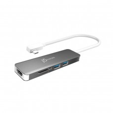 j5 Create JCD372 5-in-1 UltraDrive Mini Dock with HDMI / 2 x USB 3.1 / SD / MicroSD, USB 3.1 Type-C