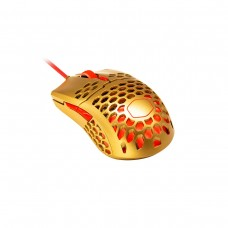 Cooler Master MM711 GOLDEN RED Ambidextrous RGB Ultra Light Gaming Mouse — Gold & Red