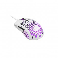 Cooler Master MM711 Ambidextrous RGB Ultra Light Gaming Mouse — Matte White