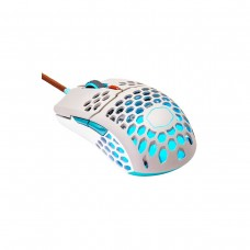 Cooler Master MM711 RETRO Ambidextrous RGB Ultra Light Gaming Mouse — Grey & Sky Blue