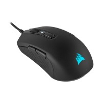Corsair M55 RGB PRO Ambidextrous Multi-Grip Gaming Mouse - Black