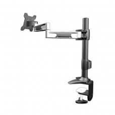 Aavara TC210 Flip Mount LCD Stand, 3 Pivots, Clamp Desk Mount, Up To 24""